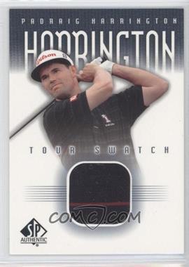 2001 SP Authentic Tour Swatch #PH-TS - Padraig Harrington