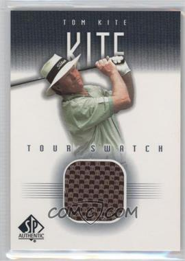 2001 SP Authentic Tour Swatch #TK-TS - Tom Kite