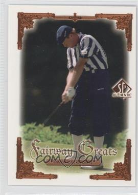 2001 SP Authentic #105 - Payne Stewart