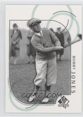 2001 SP Authentic #26 - Bobby Jones