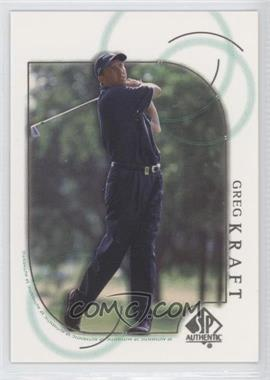 2001 SP Authentic #35 - Greg Kraft