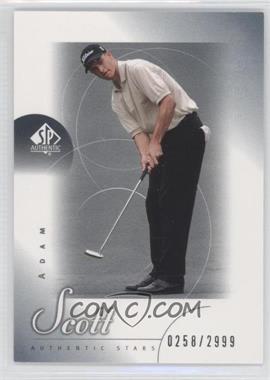 2001 SP Authentic #48 - Adam Scott /2999
