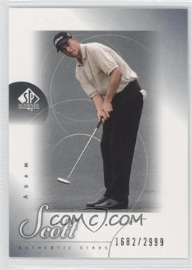 2001 SP Authentic #48 - Adam Scott /2999