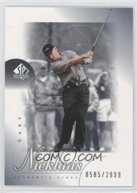 2001 SP Authentic #82 - Gary Nicklaus /2999
