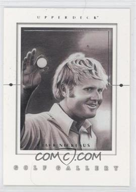 2001 Upper Deck - Golf Gallery #GG1 - Jack Nicklaus