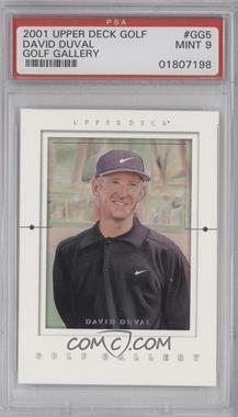 2001 Upper Deck - Golf Gallery #GG5 - David Duval [BGS9]