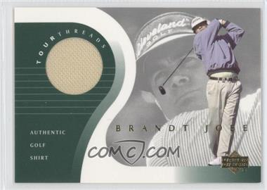2001 Upper Deck - Tour Threads #TT-BJ - Brandt Jobe