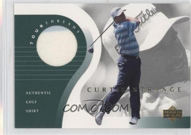 2001 Upper Deck - Tour Threads #TT-CS - Curtis Strange