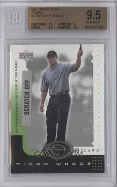 2001 Upper Deck E-card #E-TW - Tiger Woods [BGS 9.5]