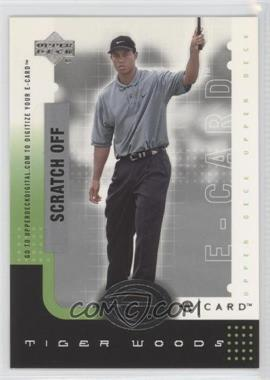 2001 Upper Deck E-card #E-TW - Tiger Woods