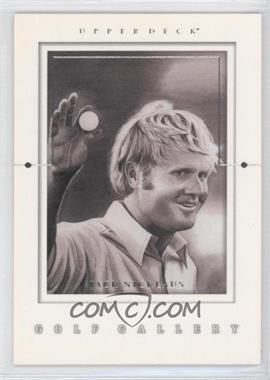 2001 Upper Deck Golf Gallery #GG1 - Jack Nicklaus