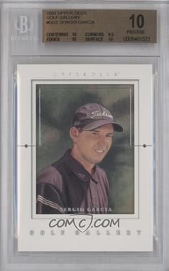 2001 Upper Deck Golf Gallery #GG2 - Sergio Garcia [BGS 10]