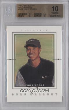 2001 Upper Deck Golf Gallery #GG4 - Tiger Woods [BGS 10]