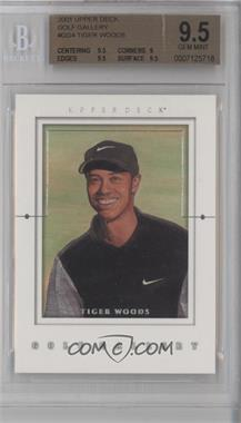 2001 Upper Deck Golf Gallery #GG4 - Tiger Woods [BGS 9.5]