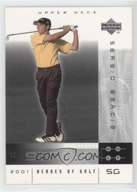 2001 Upper Deck Heroes of Golf #3 - Sergio Garcia
