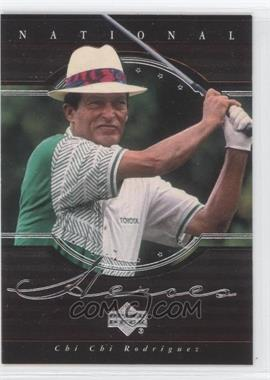 2001 Upper Deck National Heroes #NH14 - Chi Chi Rodriguez