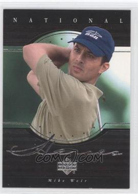2001 Upper Deck National Heroes #NH5 - Mike Weir