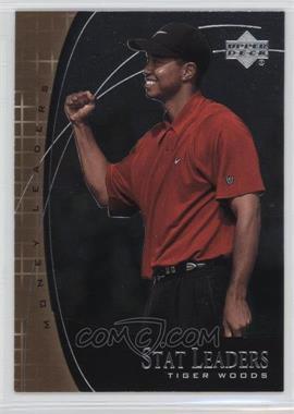 2001 Upper Deck Stat Leaders #SL17 - Tiger Woods