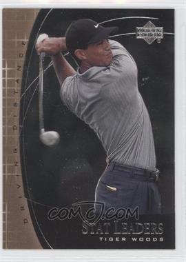 2001 Upper Deck Stat Leaders #SL2 - Tiger Woods