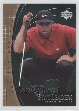 2001 Upper Deck Stat Leaders #SL7 - Tiger Woods