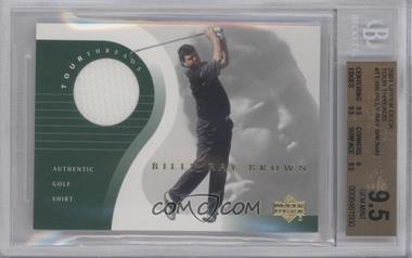 2001 Upper Deck Tour Threads #TT-BB - Billy Ray Brown [BGS 9.5]
