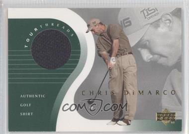 2001 Upper Deck Tour Threads #TT-CD - Chris DiMarco