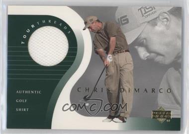 2001 Upper Deck Tour Threads #TT-CD - Chris DiMarco