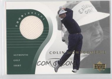 2001 Upper Deck Tour Threads #TT-CM - Colin Montgomerie