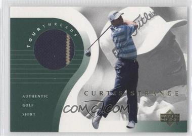 2001 Upper Deck Tour Threads #TT-CS - Curtis Strange