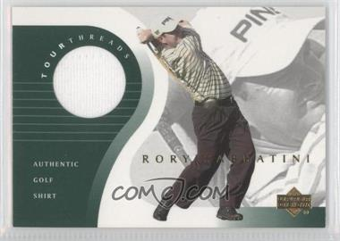 2001 Upper Deck Tour Threads #TT-RS - Rory Sabbatini