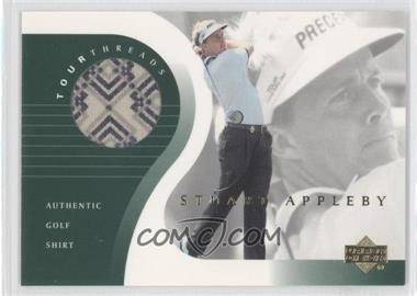 2001 Upper Deck Tour Threads #TT-SA - Stuart Appleby