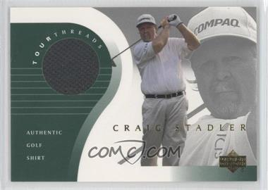 2001 Upper Deck Tour Threads #TT-ST - Craig Stadler