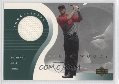 2001 Upper Deck Tour Threads #TT-TW - Tiger Woods
