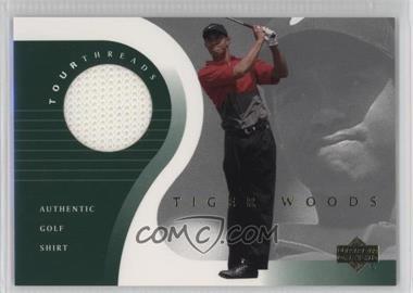 2001 Upper Deck Tour Threads #TT-TW - Tiger Woods