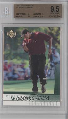 2001 Upper Deck #1 - Tiger Woods [BGS9.5]