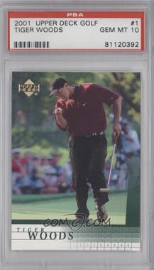 2001 Upper Deck #1 - Tiger Woods [PSA10]