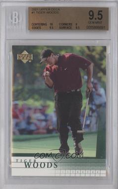 2001 Upper Deck #1 - Tiger Woods [BGS 9.5]