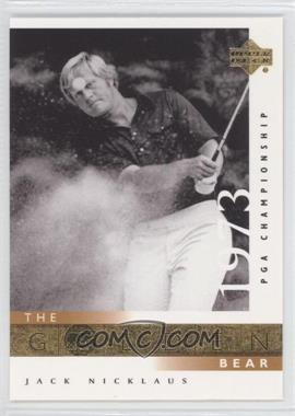 2001 Upper Deck #117 - Jack Nicklaus