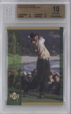 2001 Upper Deck #124 - Tiger Woods [BGS 10]