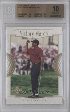 2001 Upper Deck #151 - Tiger Woods [BGS 10]