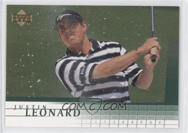 2001 Upper Deck #16 - Justin Leonard