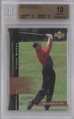 2001 Upper Deck #176 - Tiger Woods [BGS10]
