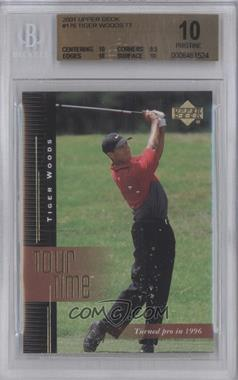 2001 Upper Deck #176 - Tiger Woods [BGS 10]