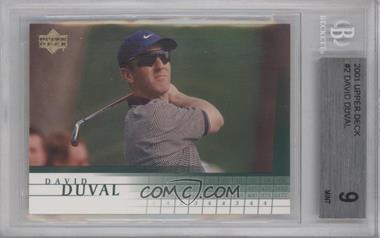 2001 Upper Deck #2 - David Duval [BGS9]