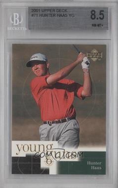 2001 Upper Deck #71 - Hunter Haas [BGS 8.5]