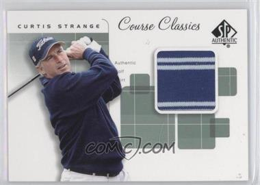 2002 SP Authentic Course Classics Golf Shirts #CC-ST - Curtis Strange