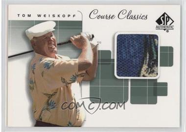 2002 SP Authentic Course Classics Golf Shirts #CC-WE - Tom Weiskopf