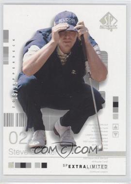 2002 SP Authentic Extra Limited #38SPA - Steve Stricker /25