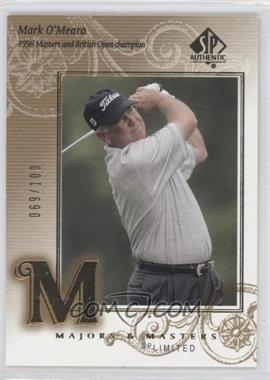 2002 SP Authentic Limited #130 - Mark O'Meara /100