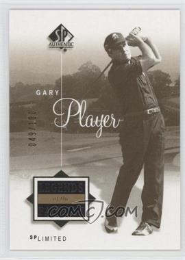 2002 SP Authentic Limited #50SPA - Gary Player /100
